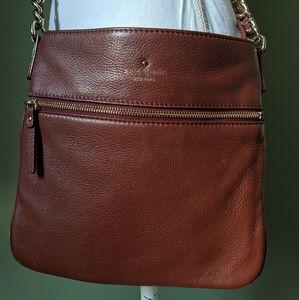Kate Spade Cognac Crossbody Bag